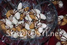 Čokoládové rohlíčky s polevou