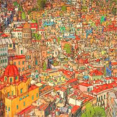 Fantastic Cities | A Coloring Book of Amazing Places Real and Imagined