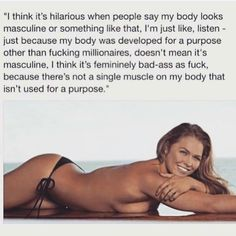 You tell them Ronda! Ronda Rousy, Ronda Rousey Wwe, Rowdy Ronda, Lift Heavy, Powerlifting, Weight Loss Goals, Lose Fat, Fitness Inspiration, Fitness Motivation