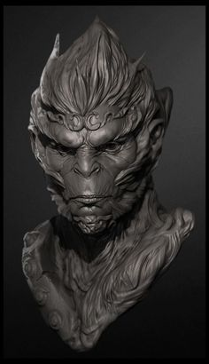 Monkey king Awesome zBrush: