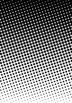 A halftone is a reproduction of a photograph or other continuous tone picture, in which only various-sized dots of black ink or ink: of a single shade are used to create the effect of intermediate or middle tones of gray.