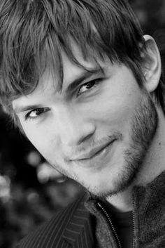 Such a cutie. Original Caption: Ashton Kutcher....(before Demi)  He just has a pretty face.