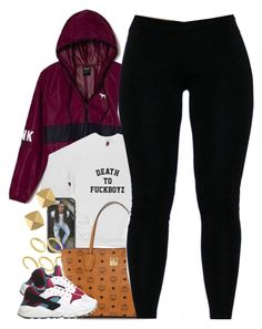 """""""Untitled #1409"""" by power-beauty ❤ liked on Polyvore featuring Victoria's Secret, ASOS, MCM, NIKE and Vince Camuto"""