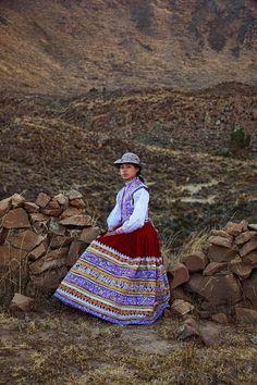 Женщина из Перу Peru