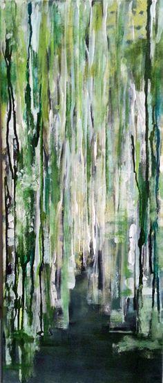 artist Barbara von Tannenberg acrylic on canvas