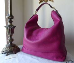 Mulberry Effie Hobo in Mulberry Pink Spongy Pebbled Leather - SOLD 1de3dcfedf921