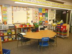 guided reading area
