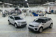Fábrica Jaguar Land Rover produzirá Evoque e Discovery Sport no Brasil