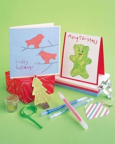 "See the ""Cookie Cutter Cards"" in our Christmas Cards for Kids gallery"