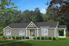 Clayton Homes of Porter manufactured or modular house details for HAMPTON home. Clayton Modular Homes, Modular Homes For Sale, Manufactured Homes For Sale, Clayton Homes, Hamptons House, The Hamptons, Double Wide Home, Side Porch, Front Porch