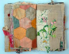 fabric book by Mandy Patullo