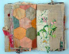 Fabric books by Mandy Pattullo http://threadandthrift.blogspot.co.uk/2014/04/a-new-book.html