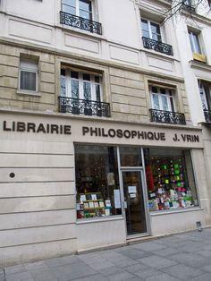 Librairie Philosophique J. VRIN | 6, place de la Sorbonne