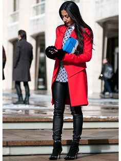 Street Style at Fall 2013 Fashion Week - NYFW Street Style Pictures - Marie Claire
