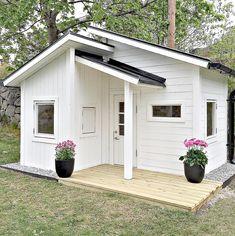 Astounding Playhouse Plan Into Your Existing Backyard Space Modern Playhouse, Backyard Playhouse, Build A Playhouse, Backyard Playground, Kids Playhouse Plans, Cubby Houses, Play Houses, Backyard Playset, Tiny House Design