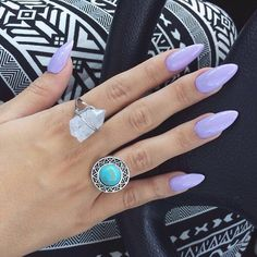 Image via We Heart It #dreamy #fashion #girl #girly #love #nails #pale #pastel #ring #rings #rosy #bigrings #inspiratin