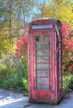 Old Phone Booth Photograph  -  Old Phone Booth Fine Art Print