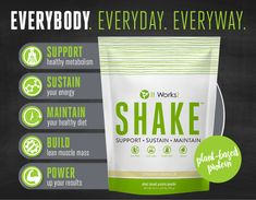 A meal replacement shake that doesn't taste chalky!!