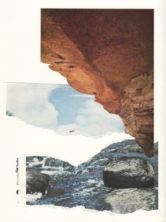Collage compositions of Lulu Wolf