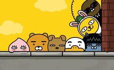可愛すぎる♡♡カカオフレンズ「ライアン」モチーフのセルフネイルが話題☆に投稿された画像No.1 | 韓国情報サイト 모으다[モウダ]