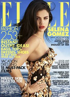 Selena Gomez by Carter Smith for Elle US July 2012