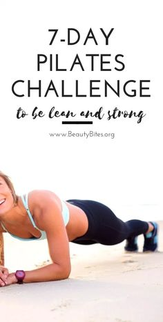 7 day pilates workout plan to be lean and strong. This Pilates challenge features cardio Pilates Workout Routine, Pilates Training, Pilates Challenge, Cardio Pilates, Pilates Video, Pilates For Beginners, Pilates Reformer, Yoga Routine, Pilates Studio