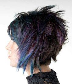 Undercut Pixie Haircut, Choppy Haircuts, Short Hairstyles, Funky Short Hair, Super Short Hair, Short Hair Cuts, Mushroom Hair, Sassy Hair, Female Hair