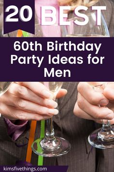 Best 60th birthday party ideas decoration and supplies for Men. Room, table and wall decorations for 60th birthday party. 60th birthday party favors. 60th birthday party glasses. 60th party ideas for Dads, Grandpas, Brother and Uncles. 60th Birthday Ideas For Dad, 60th Birthday Party Decorations, 60th Birthday Gifts, Dad Birthday, Birthday Party Favors, Birthday Parties, Men Room, Presents For Dad, Wall Decorations