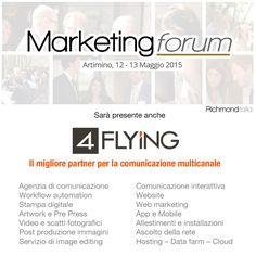 #4flying va al #marketing #forum #italia.