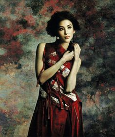 Xie Chuyu,china artist,oil painting