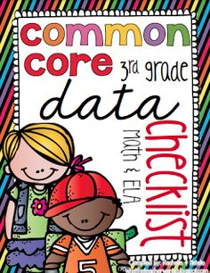 We (Natalie and I) are so excited to start a new Common Core project to help us collect data! We've been using our CCSS Checklists that we ...