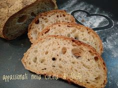 INGREDIENTI   150 gr. di farina semintegrale tipo 1  100 gr. di farina multicereali  250 gr. di farina zero W260  350 gr. di acqua  60 gr...