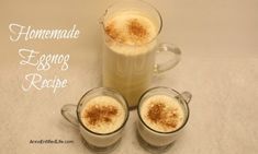 Eggnog is a delicious, traditional holiday drink, and this homemade eggnog recipe makes a fabulously rich, tasty, fresh eggnog you can whip up in minutes. This is truly the best eggnog you will ever have.