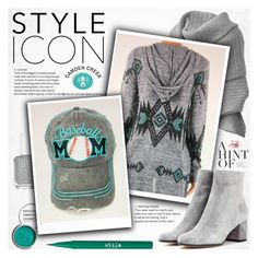 """Grey and mint"" by vanjazivadinovic ❤ liked on Polyvore featuring Acne Studios, 12PM by Mon Ami, Obsessive Compulsive Cosmetics, Gianvito Rossi, Stila, polyvoreeditorial and camdencreekboutique"