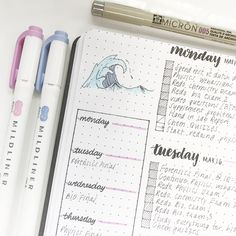 """pridebulletjournal:  """"It's officially summer for me!! Woo :)  """""""