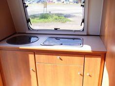 Niewiadow N126 E - Schönberg Caravan Corner Bathtub, Caravan, Windows, Green, Motorhome, Corner Tub, Ramen, Window