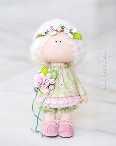 Куколка-малышка))) ПРОДАНА , набор для самостоятельного шитья возможен под заказ