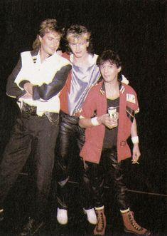 Duran Duran: Simon, John & Andy, Seven and the Ragged Tiger Tour 1984