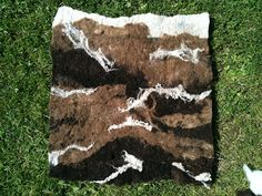 Outdoor Art: Using Gathered Wool to Make Felt | Creative STAR Learning | I'm a teacher, get me OUTSIDE here!