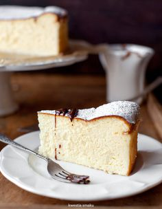 cake, cheesecake, and food image Polish Desserts, Polish Recipes, Just Desserts, Delicious Desserts, Yummy Food, Food Cakes, Cupcake Cakes, Cupcakes, Ukrainian Recipes