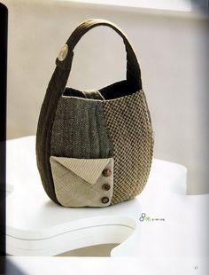 purse made from recycled wool scraps- jiaojiao_zhang - Picasa Web Albums