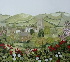 Delightful paintings by Vanessa Bowman