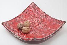 Keramik Teller, Keksteller oder Obstteller von isi-way.com