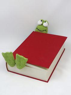 Henri Le Frog Bookmark By Ildikko - Purchased Crochet Pattern - (allcrochetpatterns)