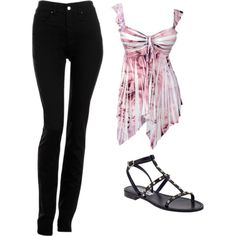 """Casual Flirt"" by schwarzekatze89 on Polyvore"