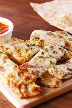 Zucchini Cheesy BreadDelish