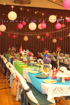 """""""Isabelle Thornton"""" Le Chateau des Fleurs: Relief society birthday party: Mad hatter party"""