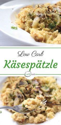 Low Carb Käsespätzle für Faule