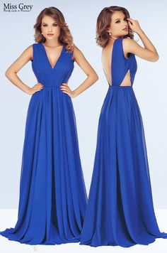 Our blue Timea maxi dress looks wonderful for any evening occasion. Maxi Dresses, Formal Dresses, Backless, Blue, Fashion, Dresses For Formal, Moda, Formal Gowns