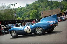 Clive Beecham's 1956 Ecurie Ecosse Long Nose Jaguar D-type XKD 603 - 2014 Shelsey Walsh Hill Climb | Flickr - Photo Sharing!